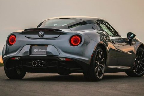Classic Fun for the Drive in the Alfa Romeo 4C