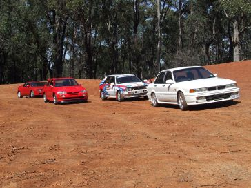 Group A rally cars