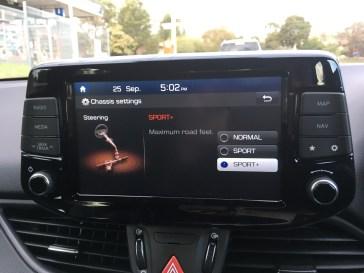 Hyundai i30N Settings