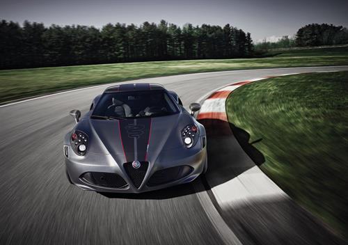 Alfa Romeo 4C Competizione Limited Edition