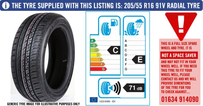 Image result for specifics of tyre
