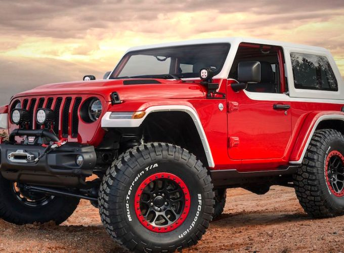 Jeep Wrangler Safari Easter Concept