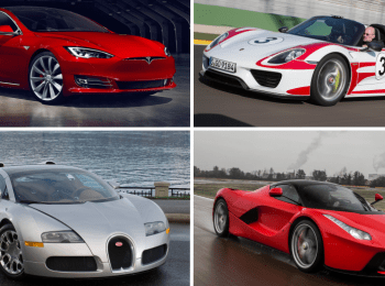 Fastest Cars from 0-60 of All Time; Exciting Speed