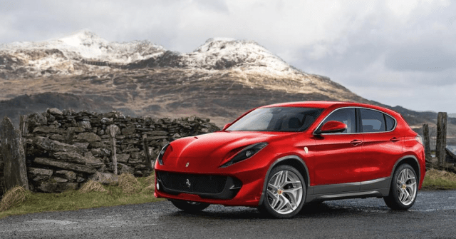 Ferrari is Entering the SUV Game Very Soon