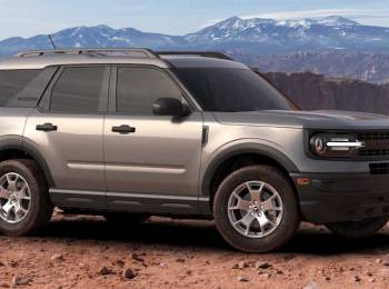 Ford Bronco compact offroad suv