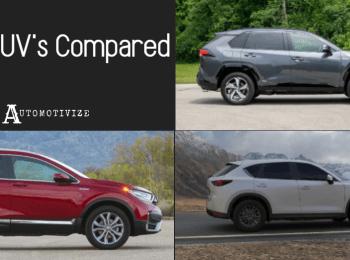 SUV's Compared