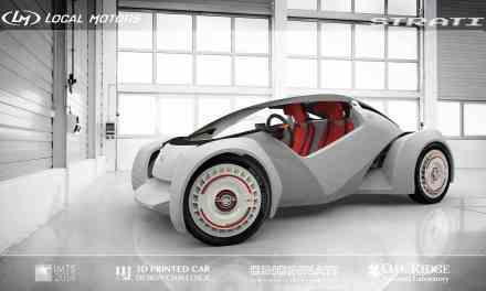 Local Motors crea la Prima automobile al mondo stampata in 3D