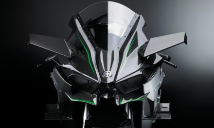 Kawasaki Ninja H2R svelata al INTERMOT 2015
