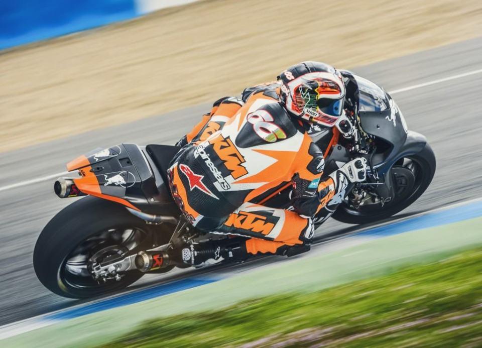 Alex Hofmann KTM RC16 Jerez 2016