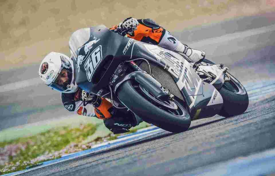 Mika Kallio KTM RC16 Jerez 2016
