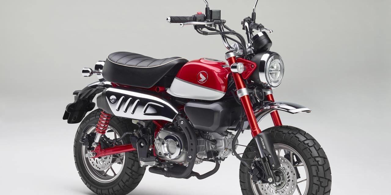 Rieccoci un altra pietra miliare ritorna la Honda Monkey 125