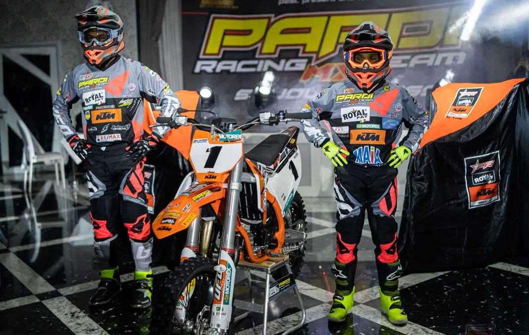 KTM & Team Pardi Racing – Rinnovato sodalizio