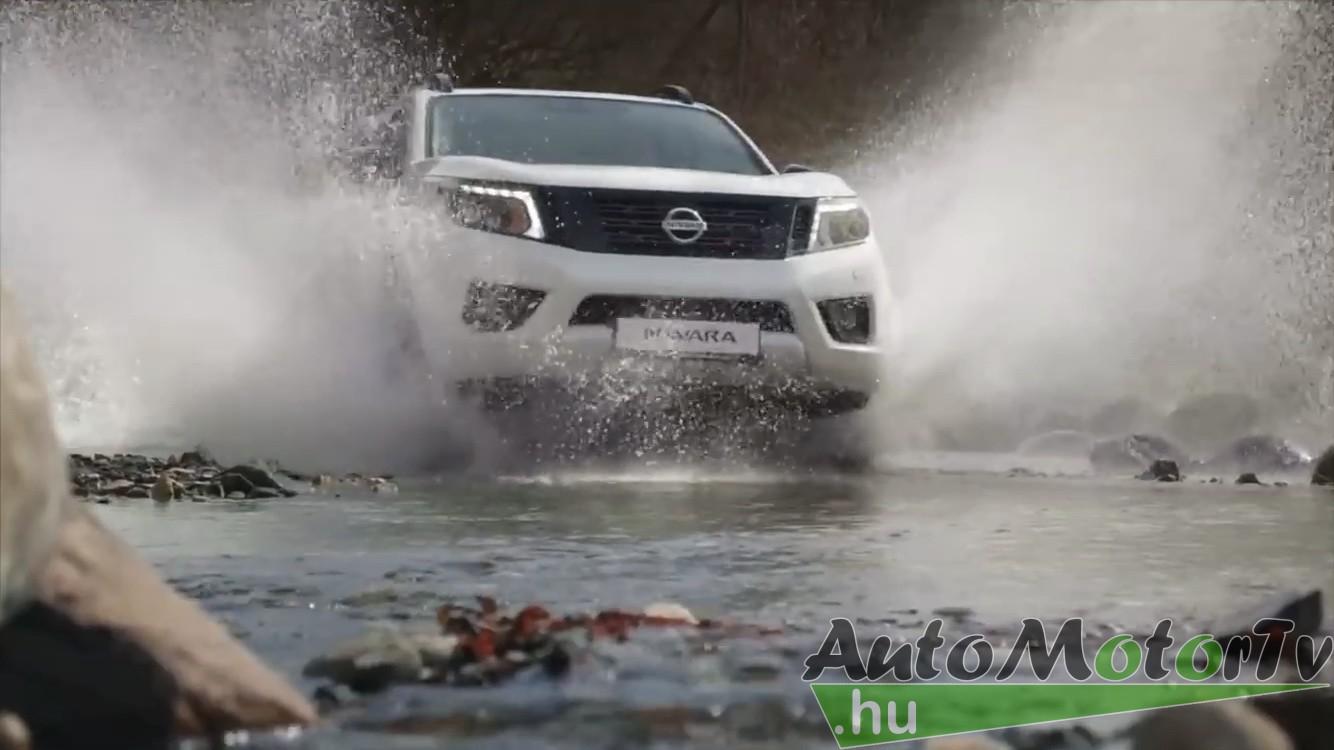 Nissan, Navara, Kékes, AutoMotorTv, 1014, 1015