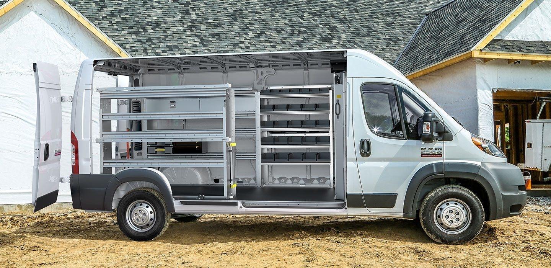 Cargo Van Shelving 8 Smart Van Organization Ideas