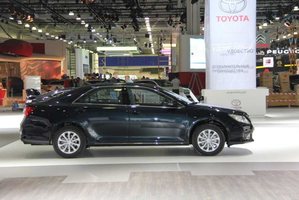 Toyota Camry, ММАС 2012