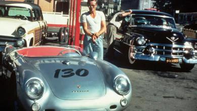 Photo of El Porsche maldito de James Dean