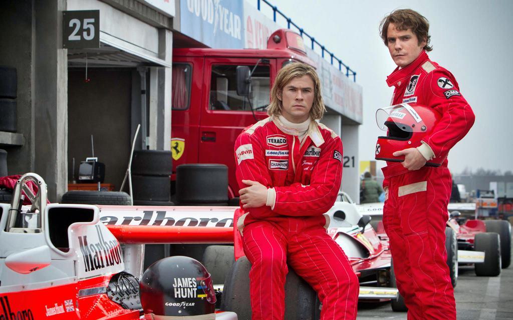 Rush: La batalla de Lauda y Hunt en pantalla grande