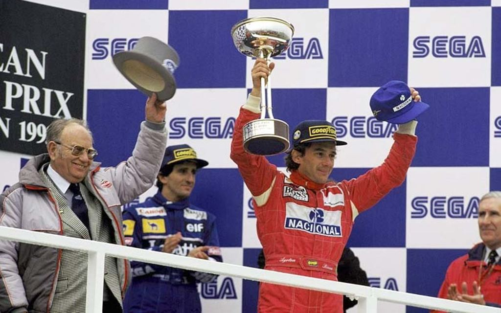 La brillante primera vuelta de Ayrton Senna en el GP de Europa de 1993