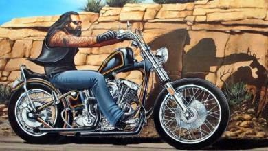 Photo of Dave Mann, el hombre que hizo un arte de la cultura biker