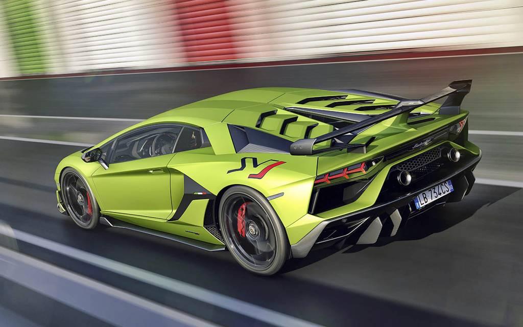 Lamborghini Aventador SVJ: Pura potencia