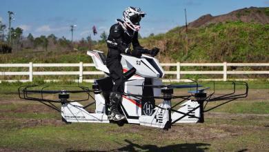 Photo of Hoverbike S3: La moto que vuela