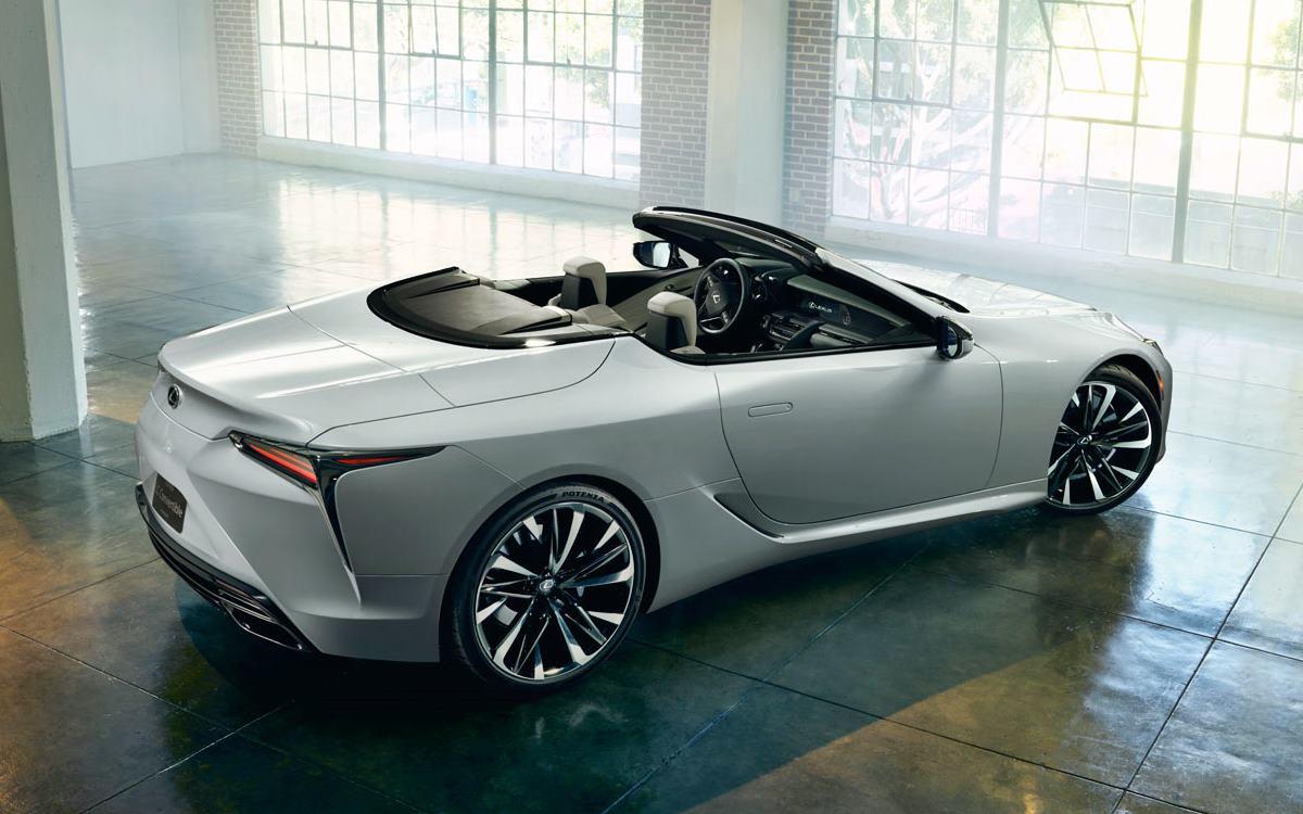 Lexus LC Convertible Concept: Belleza oriental