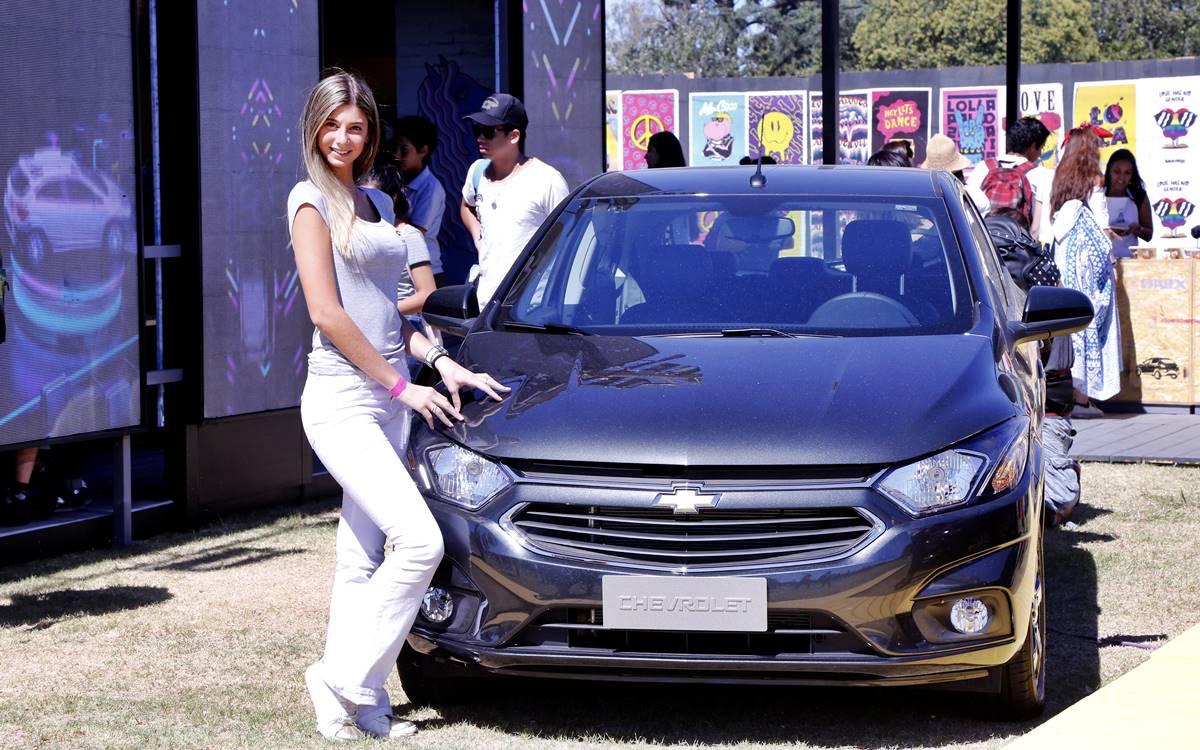 El Chevrolet Onix también será protagonista del Lollapalooza