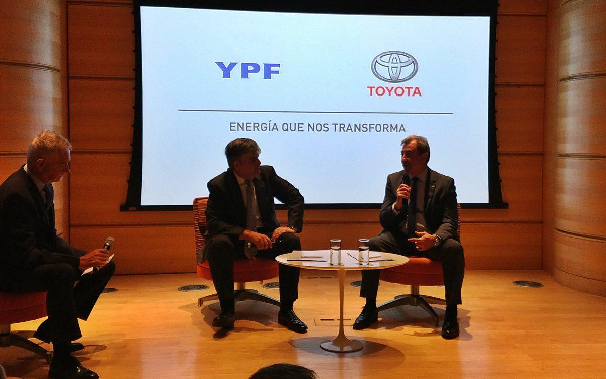 YPF y Toyota, una alianza que se reflejará en las pistas
