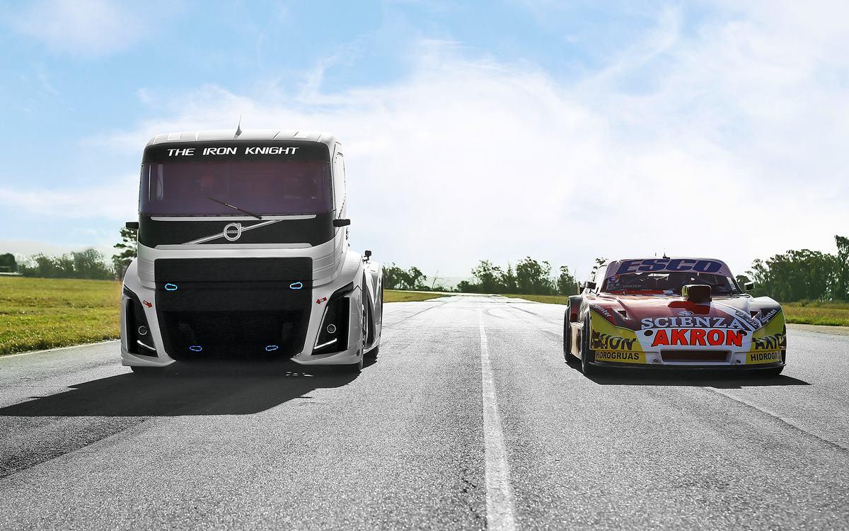 El Volvo Iron Knight se midió con Guillermo Ortelli