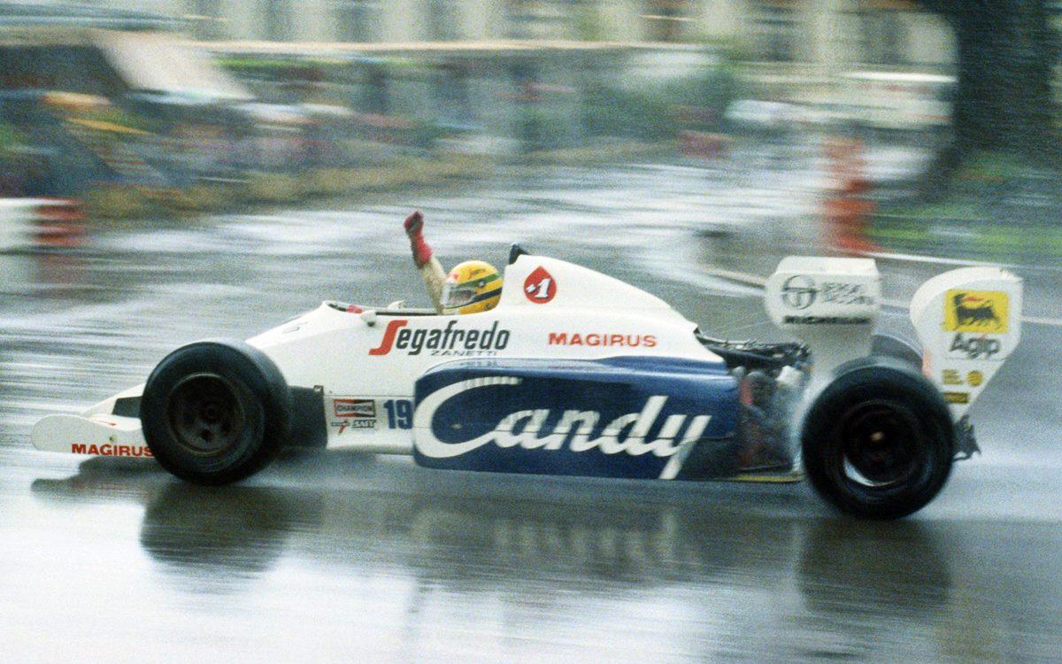 Ayrton Senna y una campaña brillante