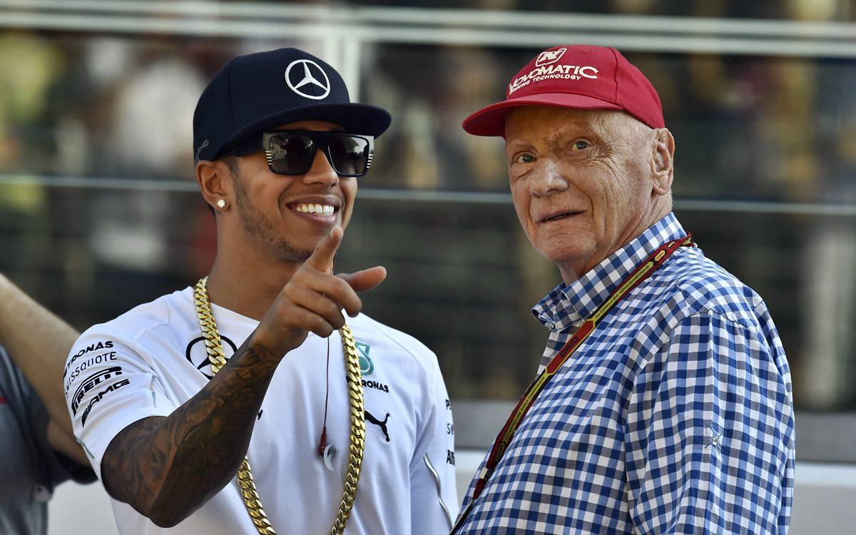 Lewis Hamilton conmovido por la muerte de Niki Lauda