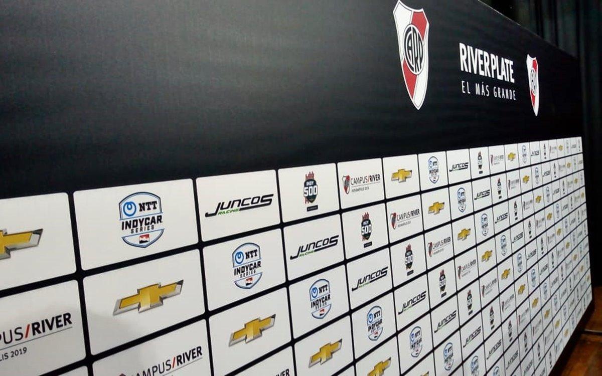 River Plate y el Juncos Racing, juntos en las 500 Millas de Indianápolis