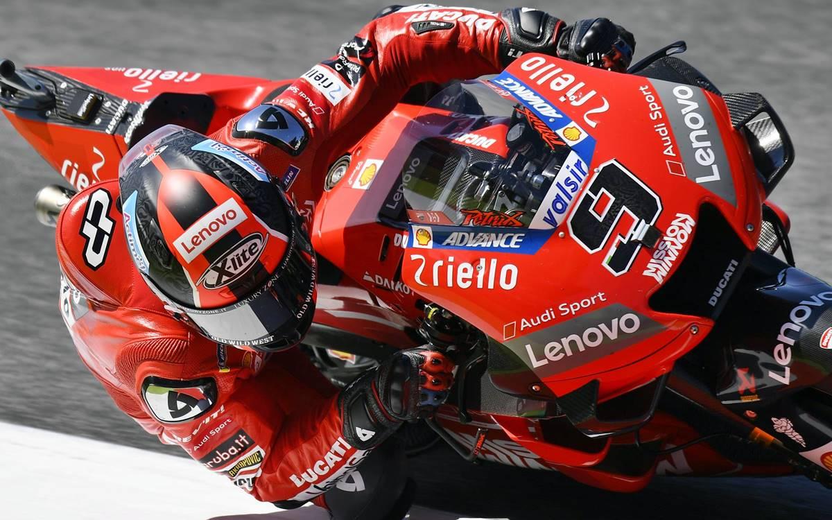 Primer triunfo de Danilo Petrucci en MotoGP y ¡de local!