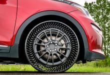 Photo of Michelin y GM presentaron un neumático sin aire