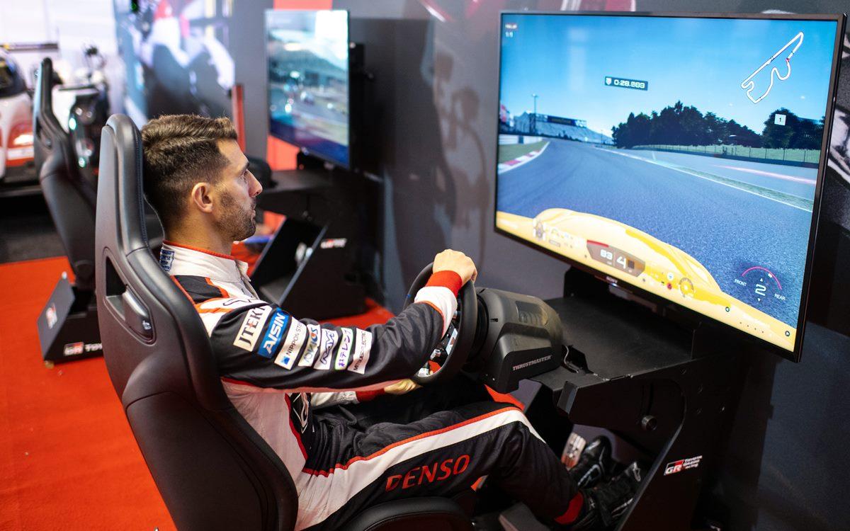 Toyota GAZOO Racing presentó su simulador oficial