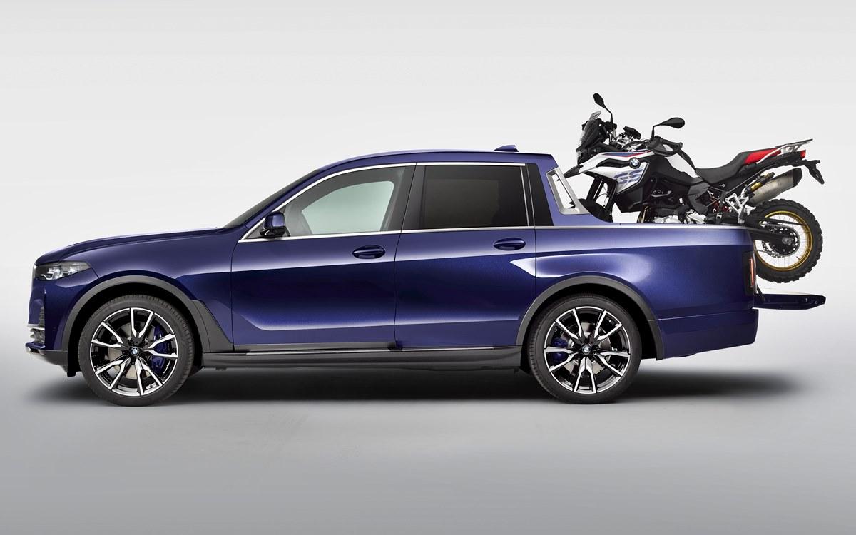 BMW X7 pick-up: Hermosa, pero sin futuro