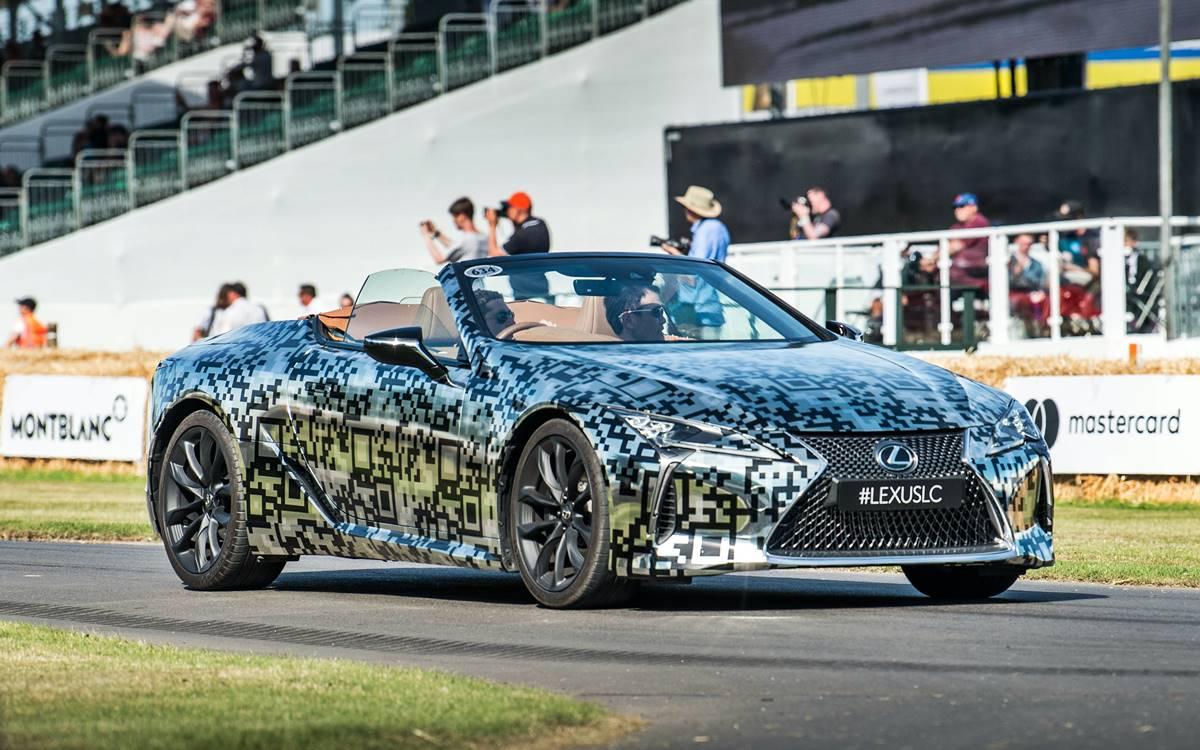 El Lexus LC tendrá una versión descapotable