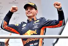 Photo of Max Verstappen gana un loco GP de Alemania