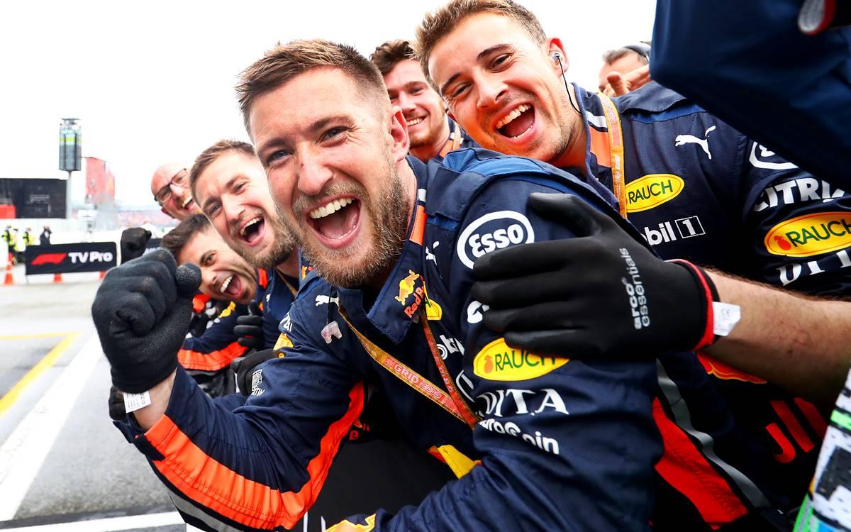 Red Bull metió otro récord: ¡1s88/100 para un pit stop!