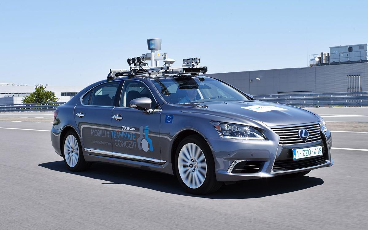 Toyota realizará pruebas de conducción automatizada en vías públicas europeas
