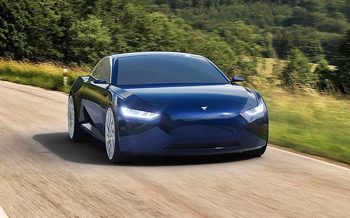 Fresco Reverie: El rival noruego del Tesla Model S
