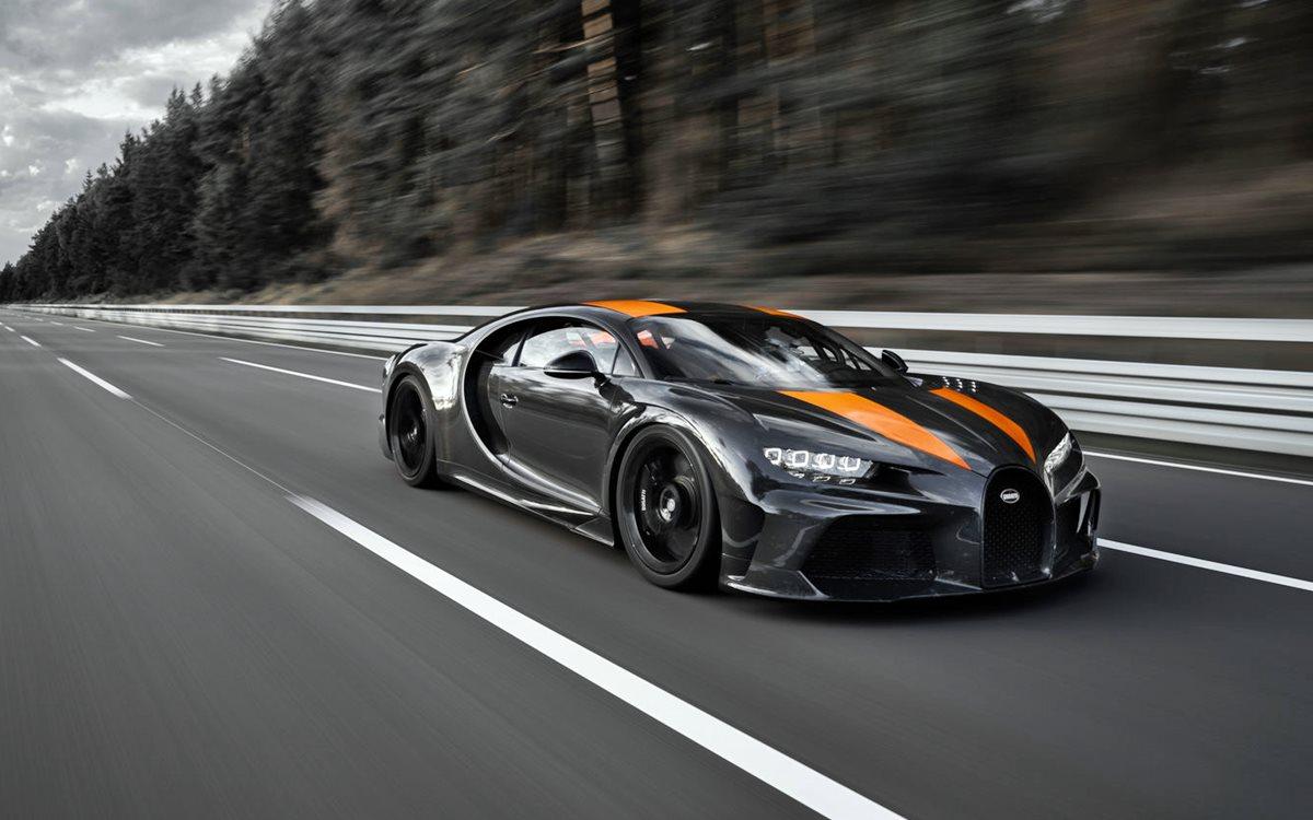 El Bugatti Chiron establece nuevo récord de velocidad al alcanzar 490,484 km/h