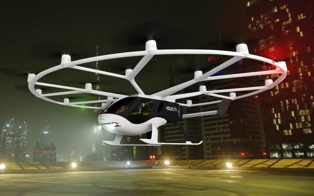 Volocopter y Geely producirán el VoloCity