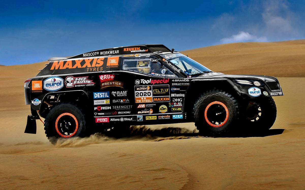 The Beast 3.0: El renovado auto de Tim y Tom Coronel para el Dakar 2020