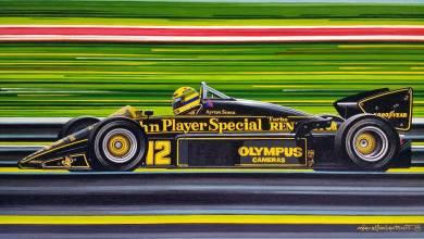 Photo of El homenaje a Ayrton Senna de los artistas plásticos argentinos