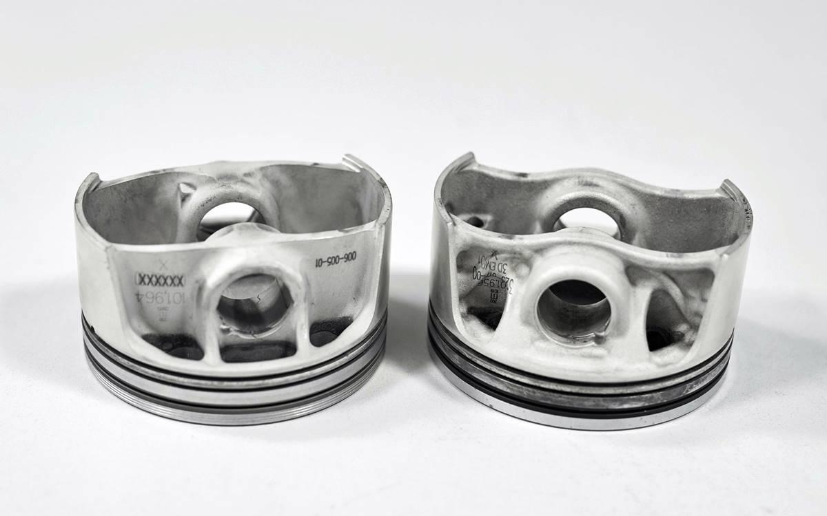 Pistones 3D Porsche