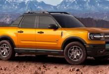 Photo of Así se vería la nueva pick-up de Ford derivada del Bronco Sport
