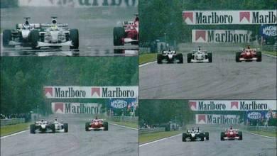 Photo of Aquel sobrepaso de Häkkinen a Schumacher en Spa-Francorchamps