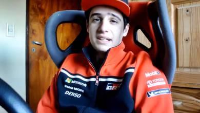 Photo of Simracer argentino en el podio de la GR Supra GT Cup 2020