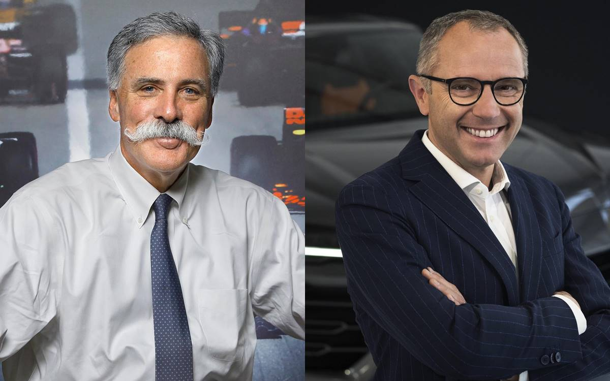 Chase Carey y Stefano Dominicali
